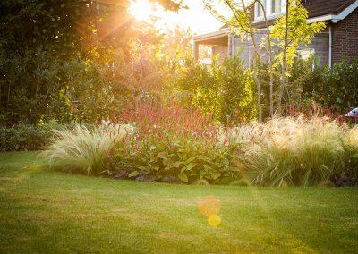 Tijdloze open tuin